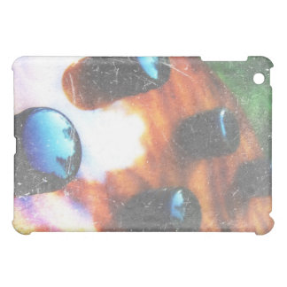 Bass guitar control knobs grunge look tiger eye iPad mini cover