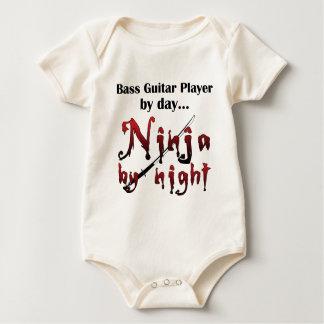 Bass Guitar Ninja Baby Bodysuit