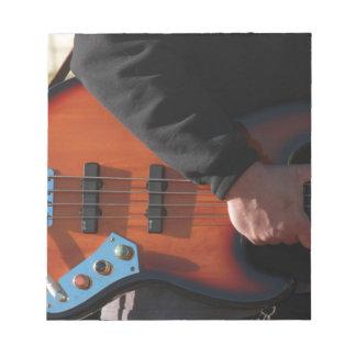 Bass Guitar Notepad