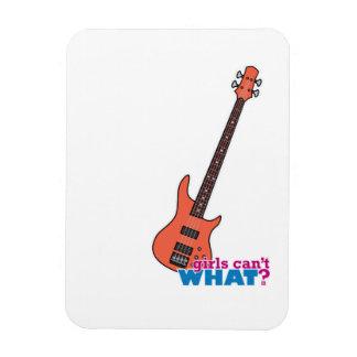 Bass Guitar Vinyl Magnet