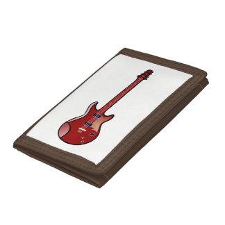 Bass guitar trifold wallet