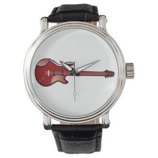 Bass guitar watch