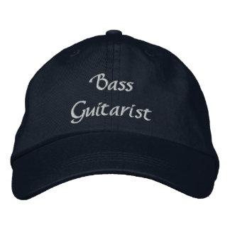 Bass Guitarist Custom Embroidered Hat