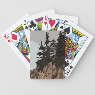 BASS HARBOR HEAD BICYCLE PLAYING CARDS