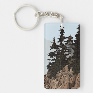 BASS HARBOR HEAD KEY RING