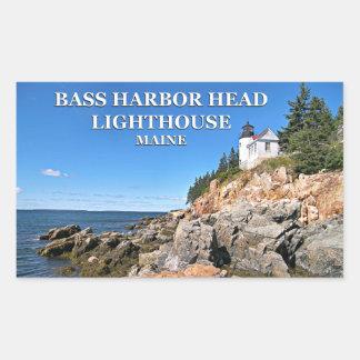 Bass Harbor Head Lighthouse, Maine Stickers
