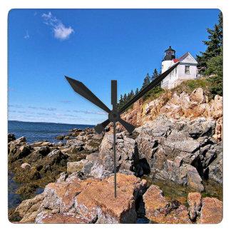 Bass Harbor Head Lighthouse, Maine Wall Clock