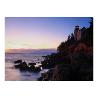 Bass Harbor Lighthouse Acadia National Park Poster