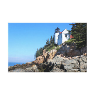 Bass Harbor Lighthouse canvas