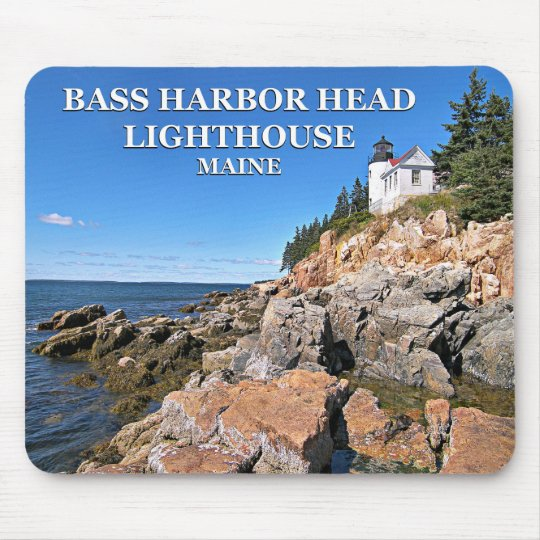 Bass Harbour Head Lighthouse, Maine Mousepad