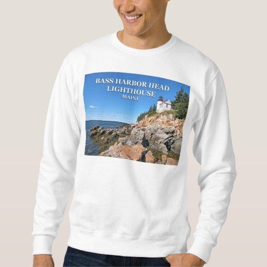 Bass Harbour Lighthouse, Mount Desert Island Maine Sweatshirt