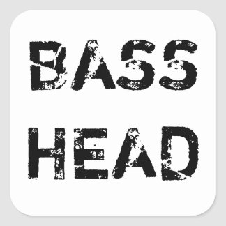 Bass Head sticker