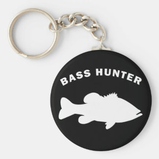 BASS HUNTER KEY RING
