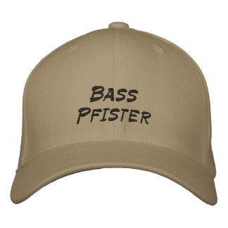Bass Pfister Embroidered Baseball Caps