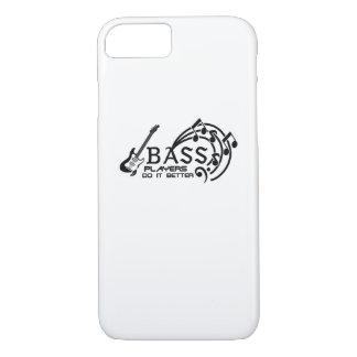 Bass Player Better Music Lover Bass Guitar Gifts iPhone 8/7 Case