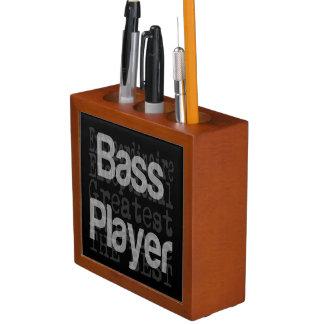 Bass Player Extraordinaire Desk Organiser