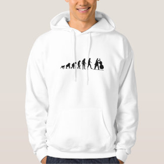 Bass Player Hooded Pullovers