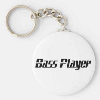 Bass Player Key Ring