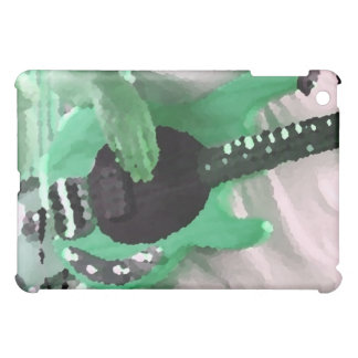 bass player painterly mint four string bass hands cover for the iPad mini
