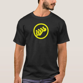 Bass Player Yellow Color T-Shirt