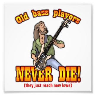 Bass Players Photographic Print