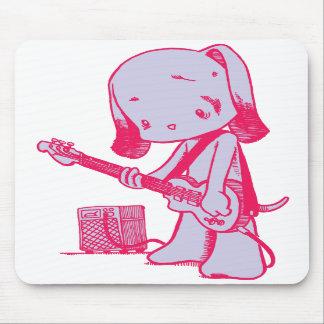 Bass Puppy Mousepad