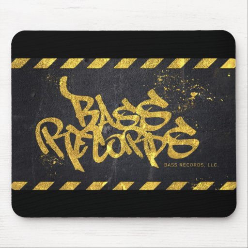 Bass Records Mouse Pad