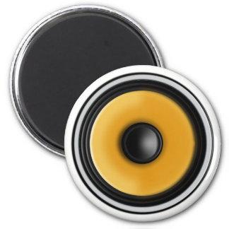 """""""Bass Speaker"""" Fridge Magnet"""