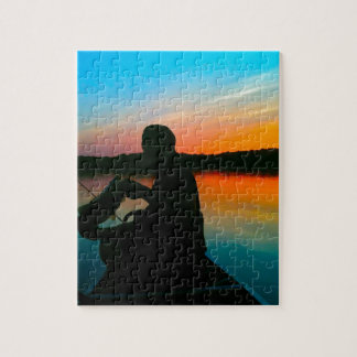 Bass Sunset Jigsaw Puzzle