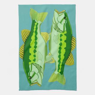 Bass Twins Tea Towel