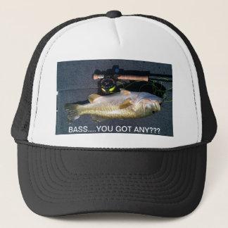 BASS.... YOU GOT ANY??? TRUCKER HAT