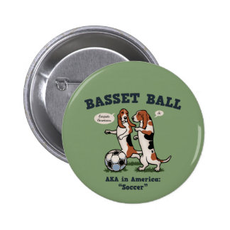 Basset Ball Buttons