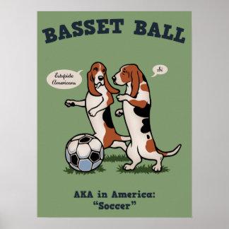 Basset Ball Poster