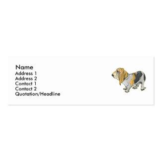 Basset  business card templates