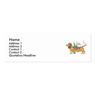 Basset Business Cards