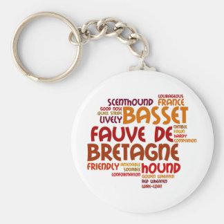 Basset Fauve de Bretagne Key Ring