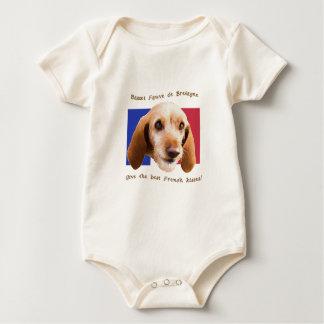 Basset Fauve deBretagne Give Best French Kisses Baby Bodysuit