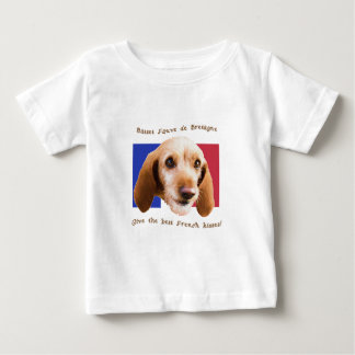 Basset Fauve deBretagne Give Best French Kisses Baby T-Shirt