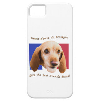 Basset Fauve deBretagne Give Best French Kisses Barely There iPhone 5 Case