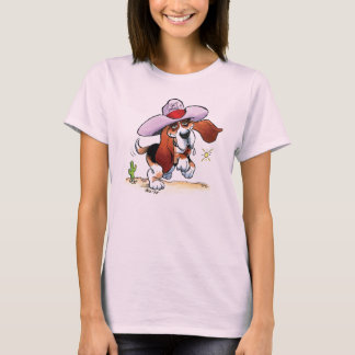 Basset Got Drool? Ladies Baby Doll T-Shirt