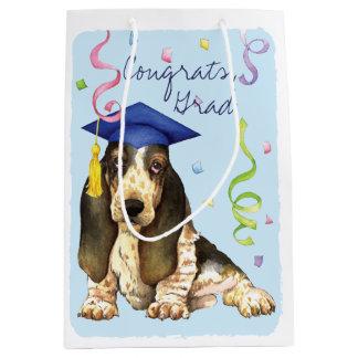 Basset Graduate Medium Gift Bag