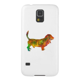 Basset Hound 01 in watercolor 2 Galaxy S5 Cover