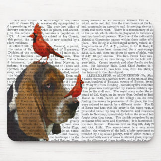 Basset Hound and Birds Mouse Pad