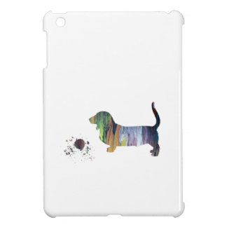 Basset hound art case for the iPad mini