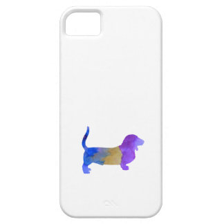 Basset Hound Barely There iPhone 5 Case
