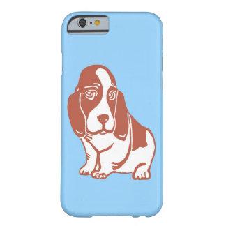 Basset Hound Blue iPhone 6 Case