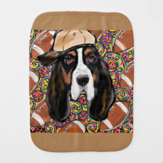 Basset Hound Burp Cloth