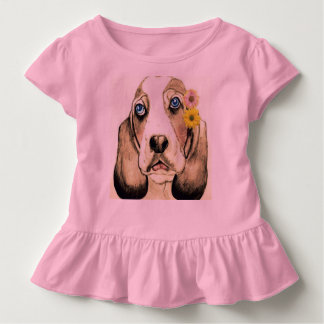 Basset Hound by Carol Zeock Toddler T-Shirt