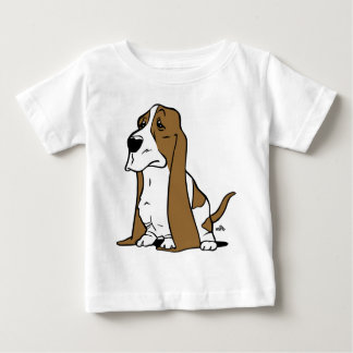 Basset hound cartoon baby T-Shirt