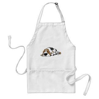 Basset Hound cartoon dog Standard Apron